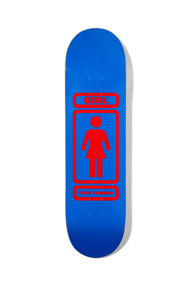 "Girl Skateboards Pacheco 93 Til 8.37"" Deck"