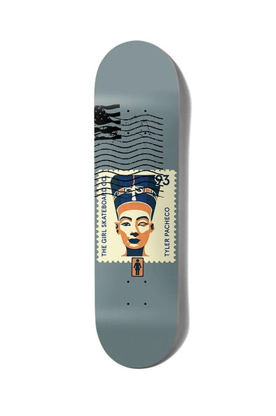 "Girl Skateboards Pacheco Postal 8.37"" Deck"