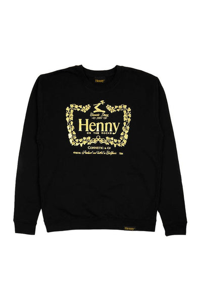 Henny Apparel On The Rocks Crewneck Sweater - Mainland Skate & Surf