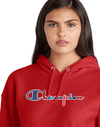 Champion Reverse Weave Pullover Women's Hoodie, 3-Color Vintage Logo - Mainland Skate & Surf