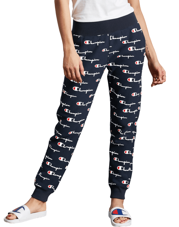 Champion Reverse Weave Women's Joggers, All Over Print - Mainland Skate & Surf