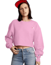 Champion Cropped Cut Off Women's Sweatshirt Crew Reverse Weave Fit C Logo - Mainland Skate & Surf