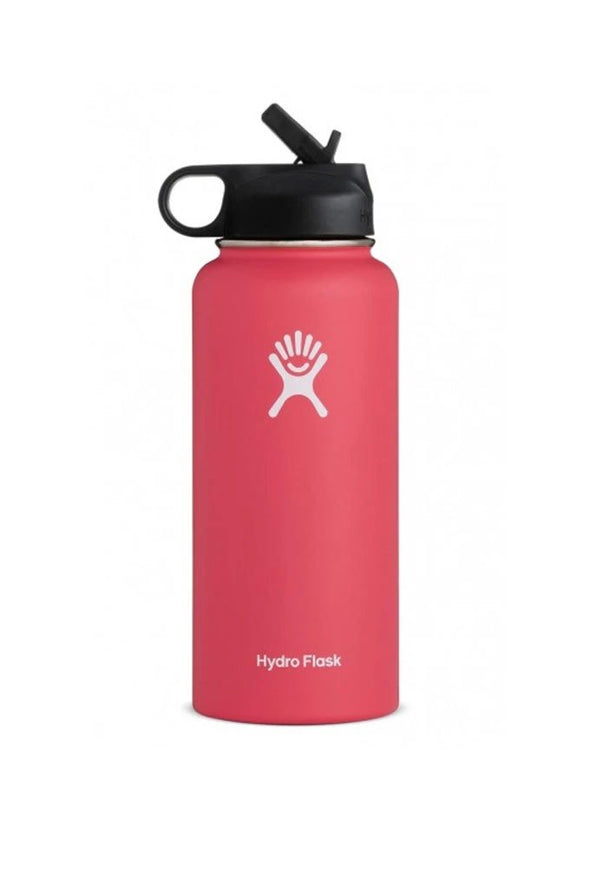 Hydro Flask 32 oz Wide Mouth Bottle w/ Straw Lid - Mainland Skate & Surf