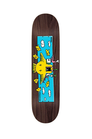 "Krooked Sebo Hi Flyer 8.38"" Deck - Mainland Skate & Surf"