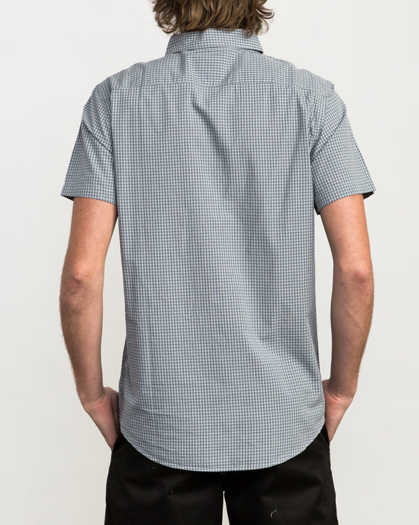 RVCA Staple Woven Button-Up Shirt - Mainland Skate & Surf