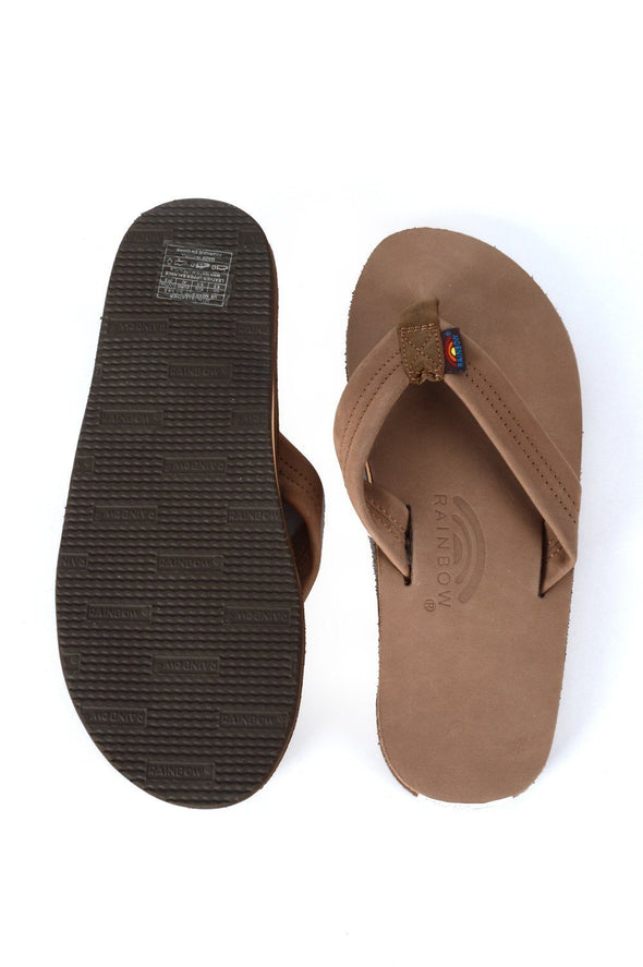Rainbow Men's 301 Dark Brown Sandals - Mainland Skate & Surf