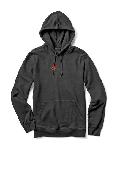Primitive Burning Pigment Dyed Hoodie - Mainland Skate & Surf