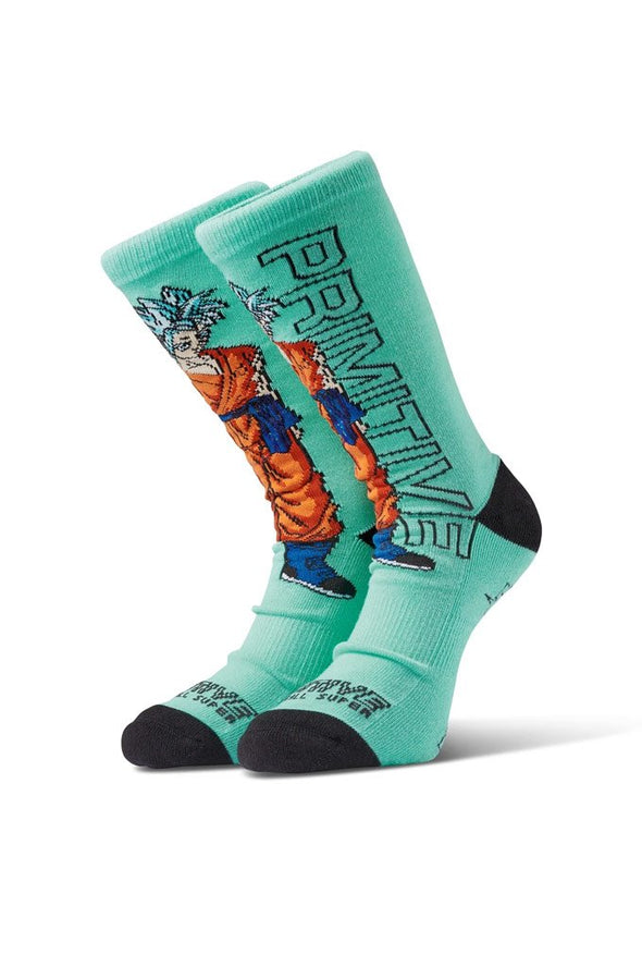Primitive SSG Goku Socks - Mainland Skate & Surf