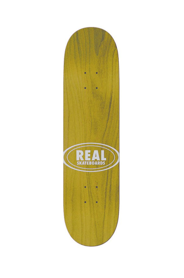 "Real Team Shine On Oval 8.12"" Deck - Mainland Skate & Surf"