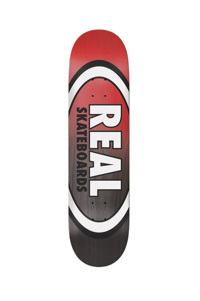 "Real Team Shine On Oval 8.25"" Deck - Mainland Skate & Surf"