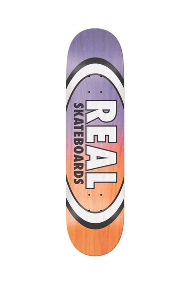 "Real Team Shine On Oval 8.38"" Deck - Mainland Skate & Surf"
