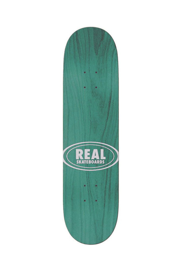 "Real Team Shine On Oval 8.5"" Deck - Mainland Skate & Surf"