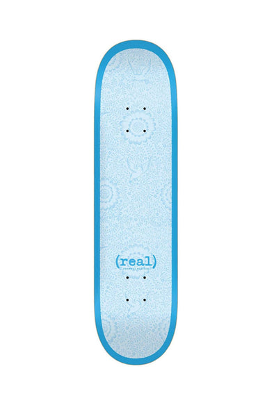 "Real Skateboards Flowers Renewal 7.75"" Deck"