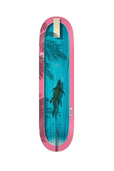 "Real Skateboards Zion Dive In 8.5"" Deck"