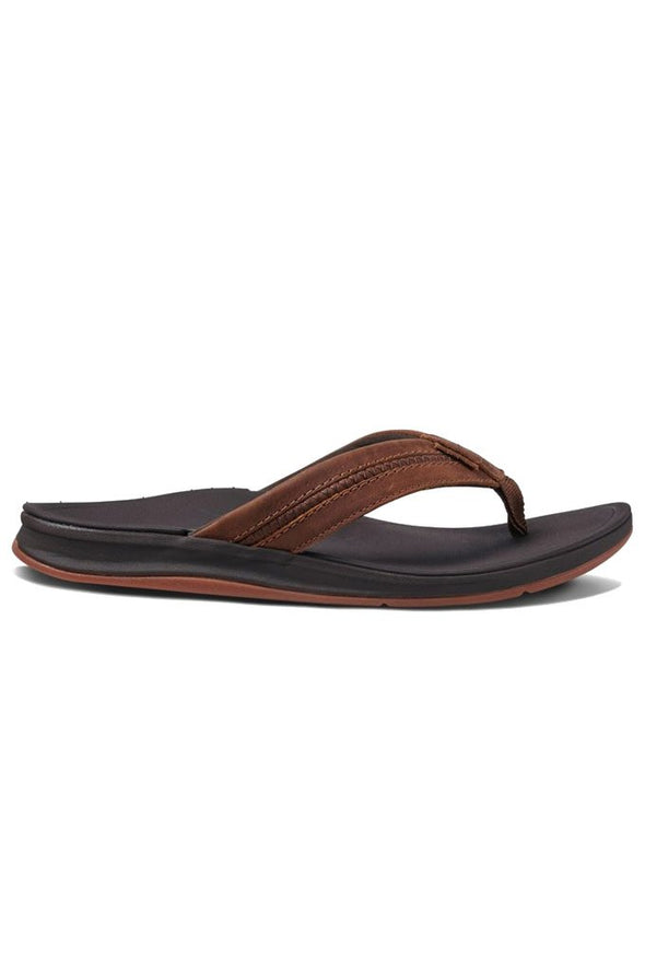 Reef Leather Ortho-Bounce Coast Men's Sandals