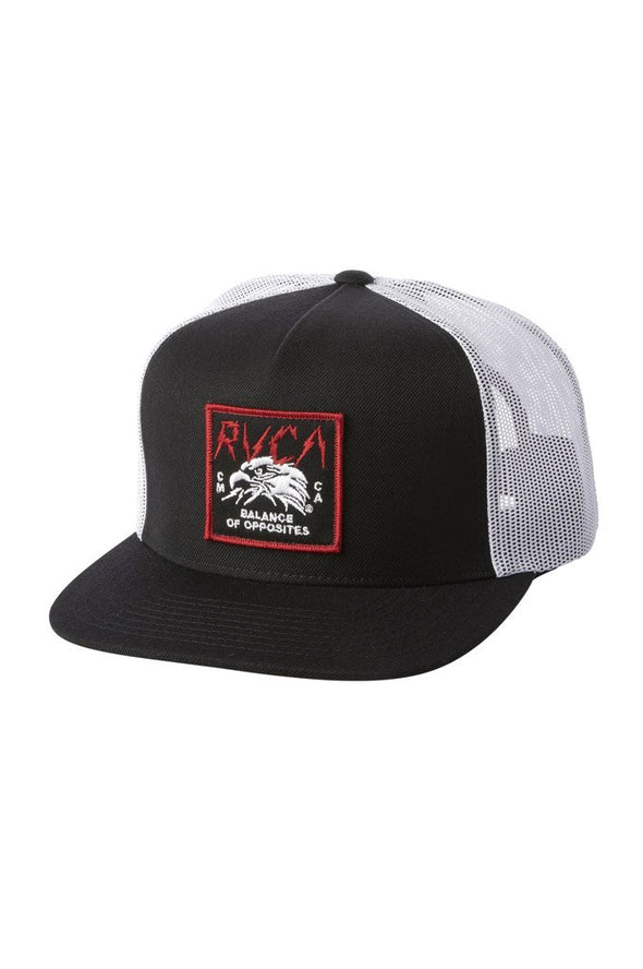 RVCA Strike Trucker Hat - Mainland Skate & Surf