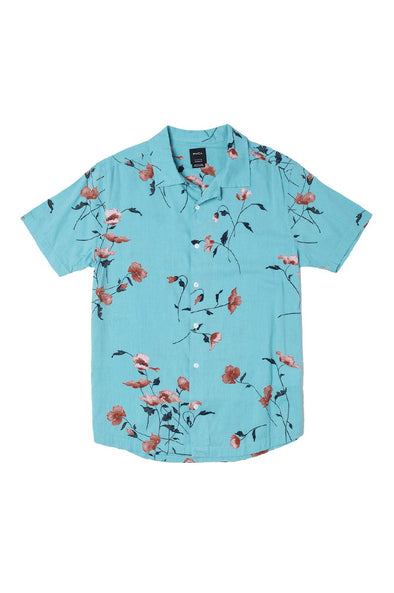 RVCA Lazarus Floral Button-Up Shirt
