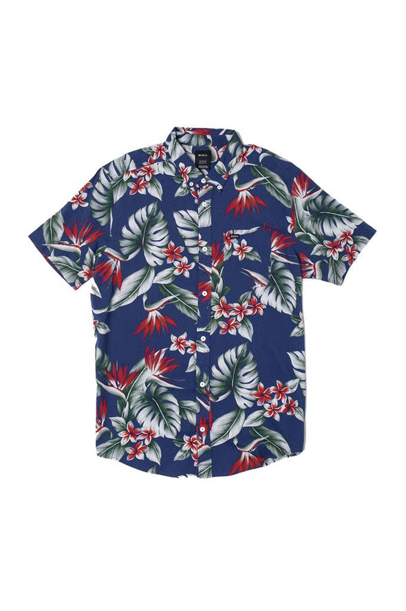 RVCA Montara Button-Up Shirt - Mainland Skate & Surf