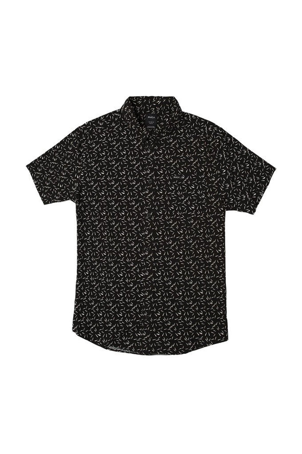 RVCA Pins & Needles Button-Up Shirt - Mainland Skate & Surf