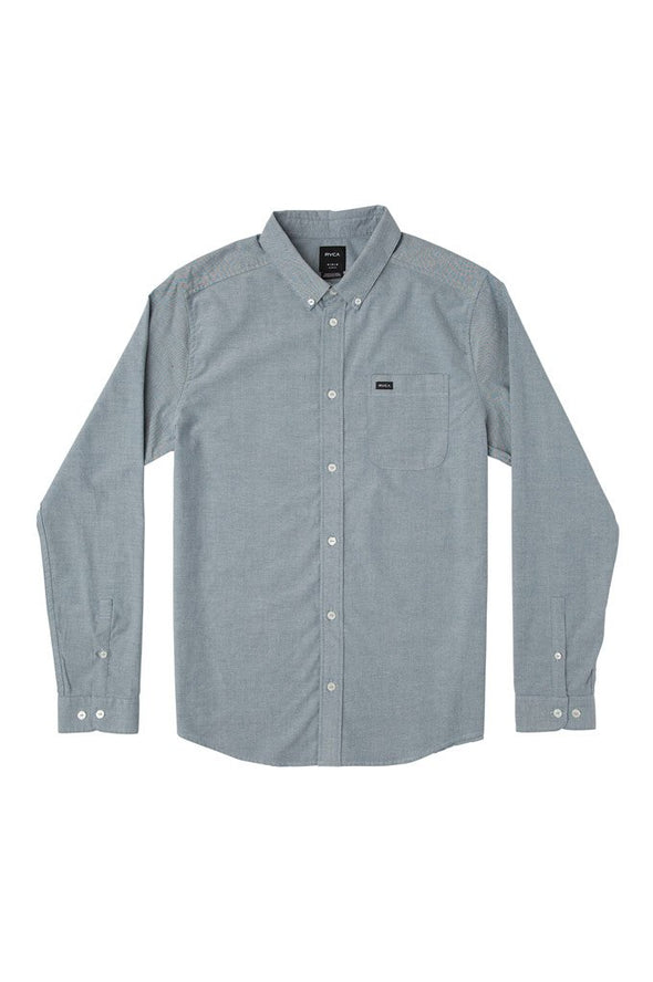 RVCA That'll Do Stretch Long Sleeve Shirt - Mainland Skate & Surf