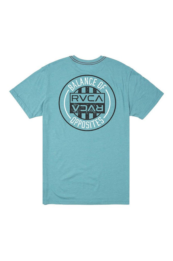 RVCA Current Seal SS Tee - Mainland Skate & Surf