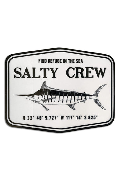 "Salty Crew Stealth 4.5"" Sticker - Mainland Skate & Surf"