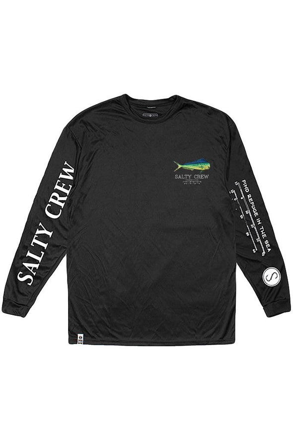 Salty Crew Bull Long Sleeve Tech Tee - Mainland Skate & Surf