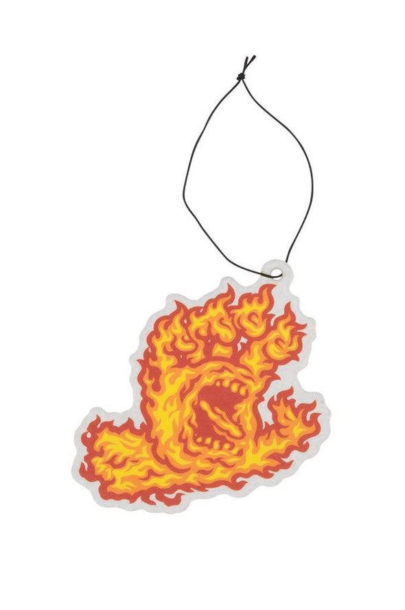 Santa Cruz Flame Hand Air Freshener - Mainland Skate & Surf