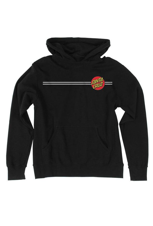 Santa Cruz Classic Dot Boys Youth Pullover Hoodie - Mainland Skate & Surf
