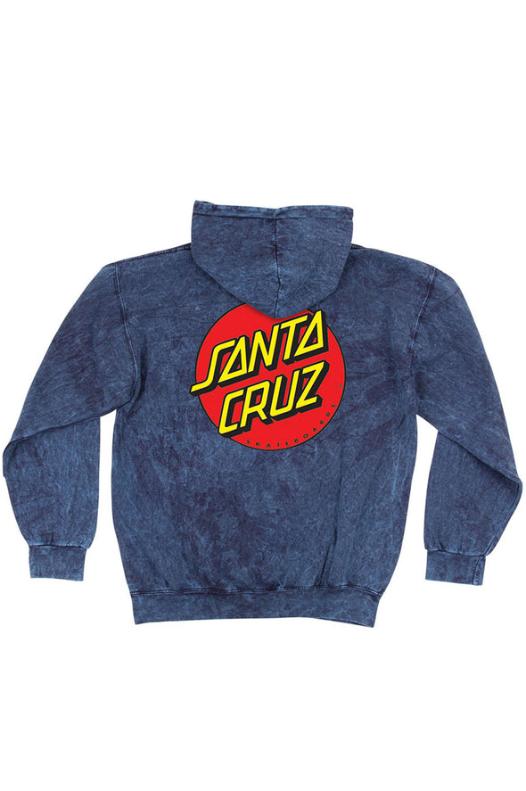 Santa Cruz Classic Dot Pull Over Hoodie - Mainland Skate & Surf