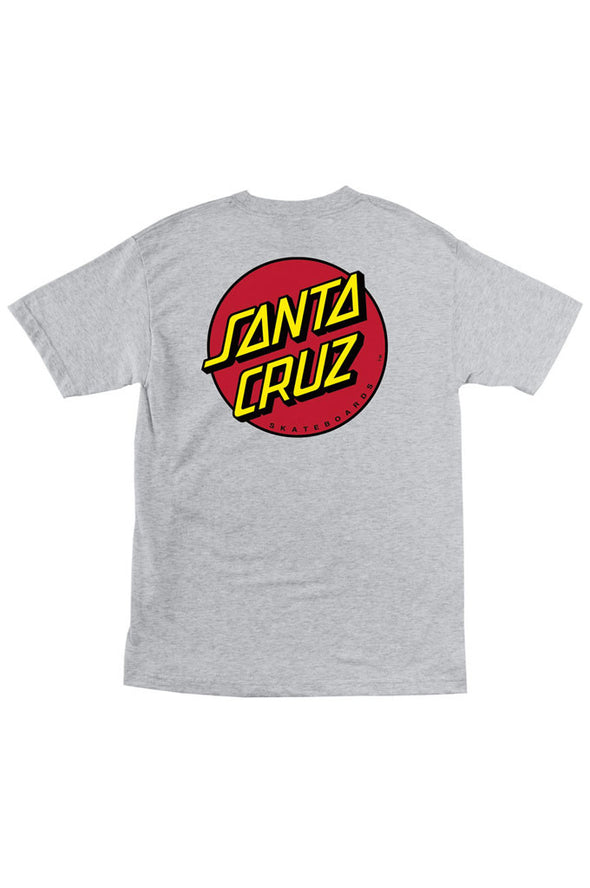 Santa Cruz Classic Dot Regular Tee - Mainland Skate & Surf