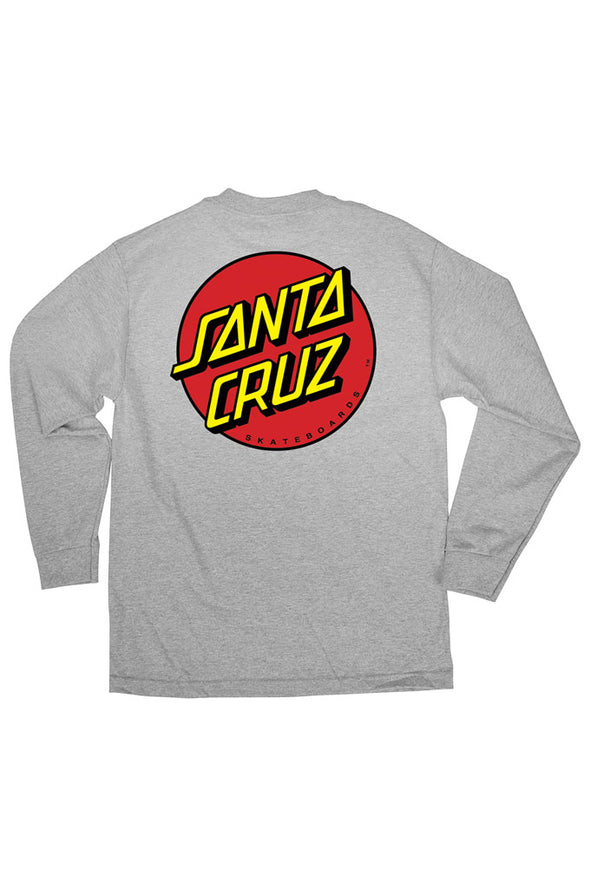 Santa Cruz Classic Dot Regular Long Sleeve Shirt