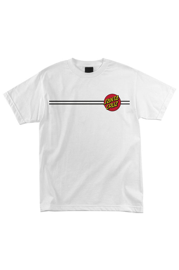Santa Cruz Classic Dot Regular Youth Tee - Mainland Skate & Surf