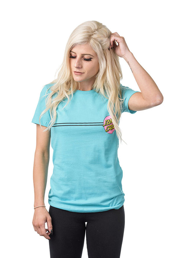 Santa Cruz Other Dot Fitted Tee - Mainland Skate & Surf