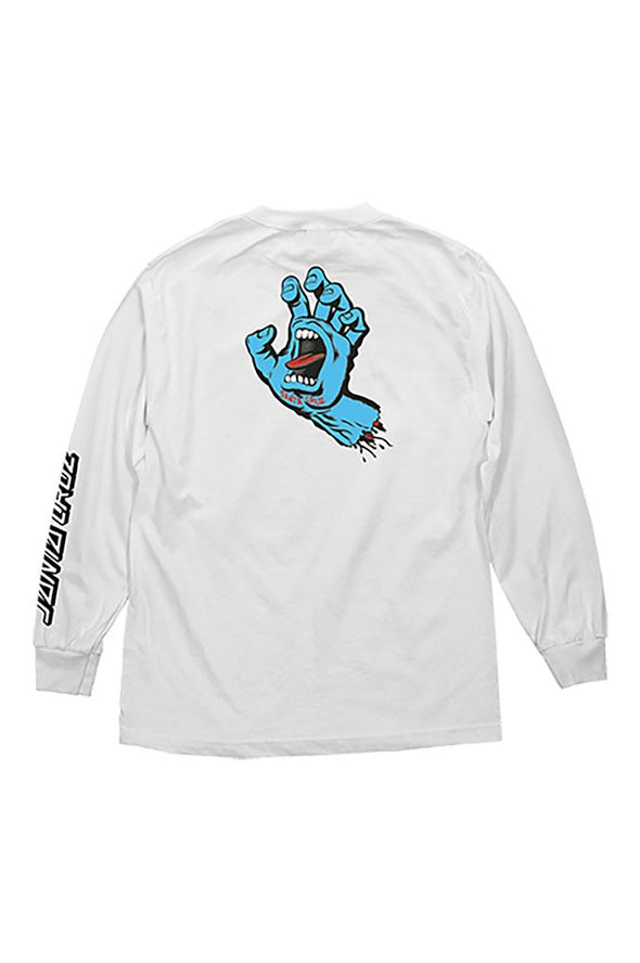 Santa Cruz Screaming Hand Long Sleeve Tee - Mainland Skate & Surf