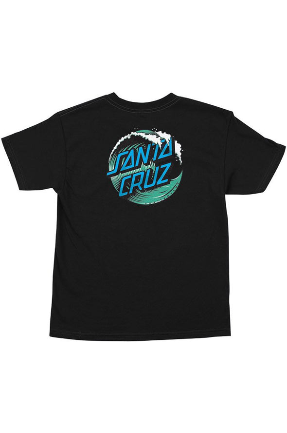Santa Cruz Wave Dot Regular Youth Tee