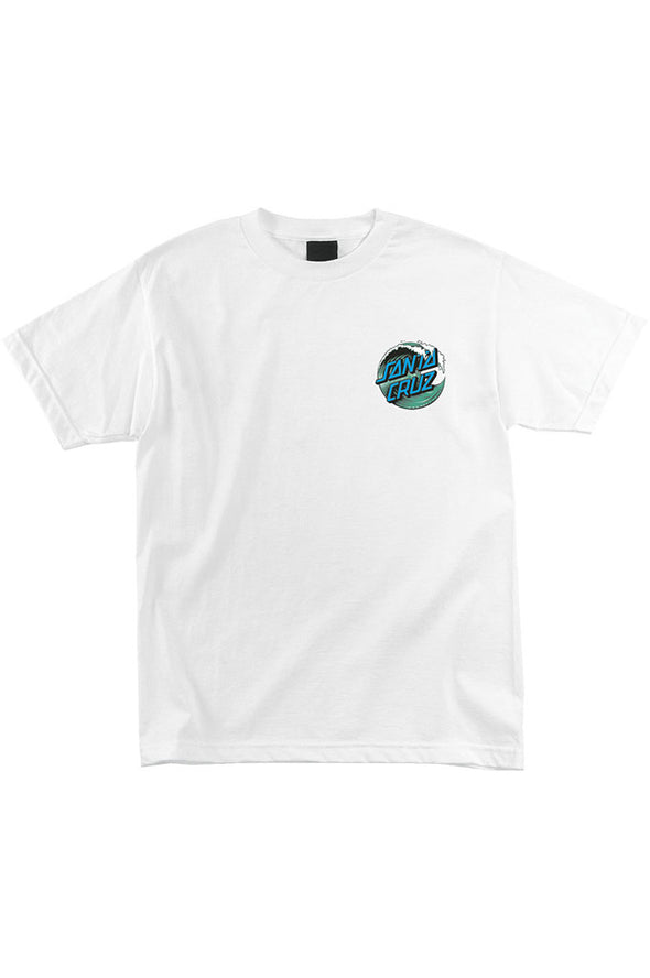 Santa Cruz Wave Dot Regular Tee - Mainland Skate & Surf