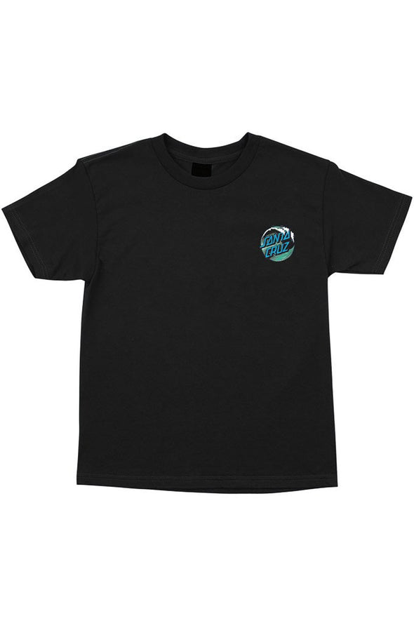 Santa Cruz Wave Dot Regular Youth Tee - Mainland Skate & Surf