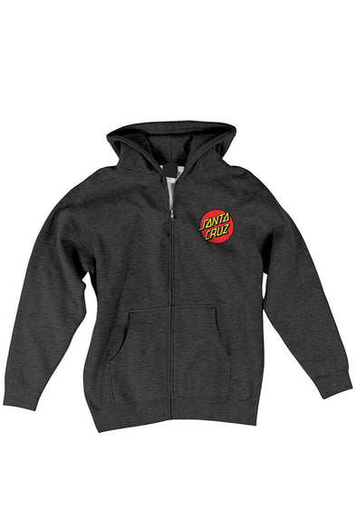 Santa Cruz Women's Classic Dot Zip Sweatshirt - Mainland Skate & Surf