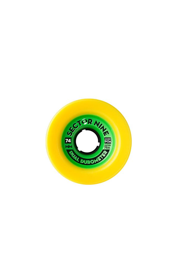 Sector 9 Dual Duro 74mm Wheels - Mainland Skate & Surf