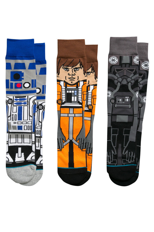 Stance A New Hope Socks Gift Pack