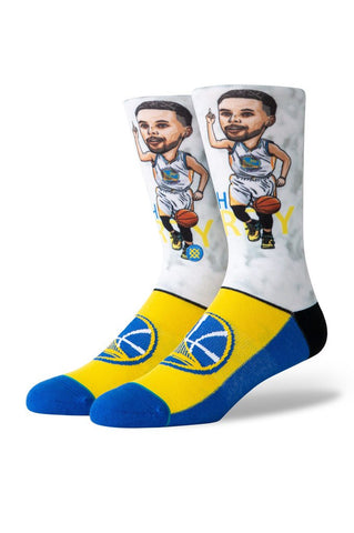 Stance Curry Big Head Socks