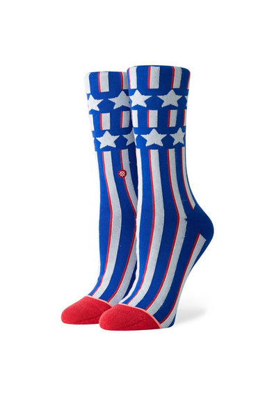 Stance Patriotism Crew Women's Socks - Mainland Skate & Surf