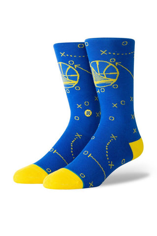 Stance Warriors Playbook Socks