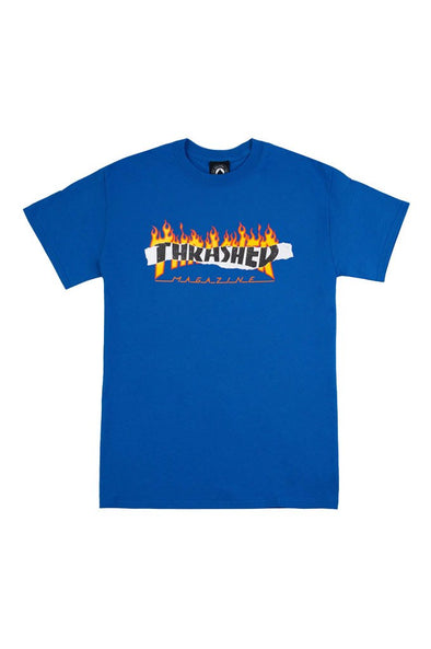 Thrasher Ripped Tee - Mainland Skate & Surf