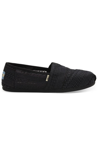 TOMS Embroidered Mesh Women's Classics