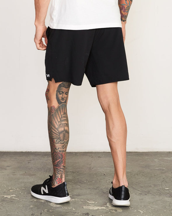 "RVCA Yogger Stretch 17"" Shorts - Mainland Skate & Surf"