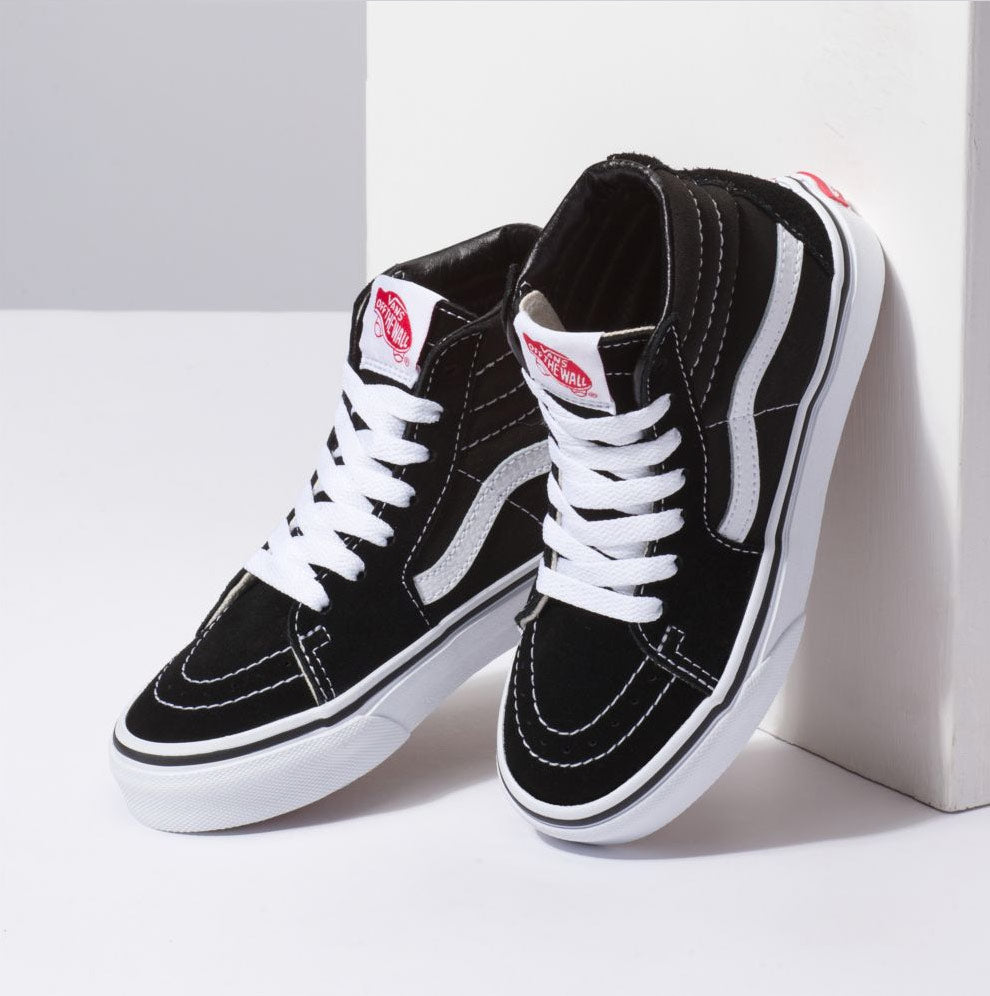 Vans Kids Sk8 Hi Shoes – Mainland Skate & Surf