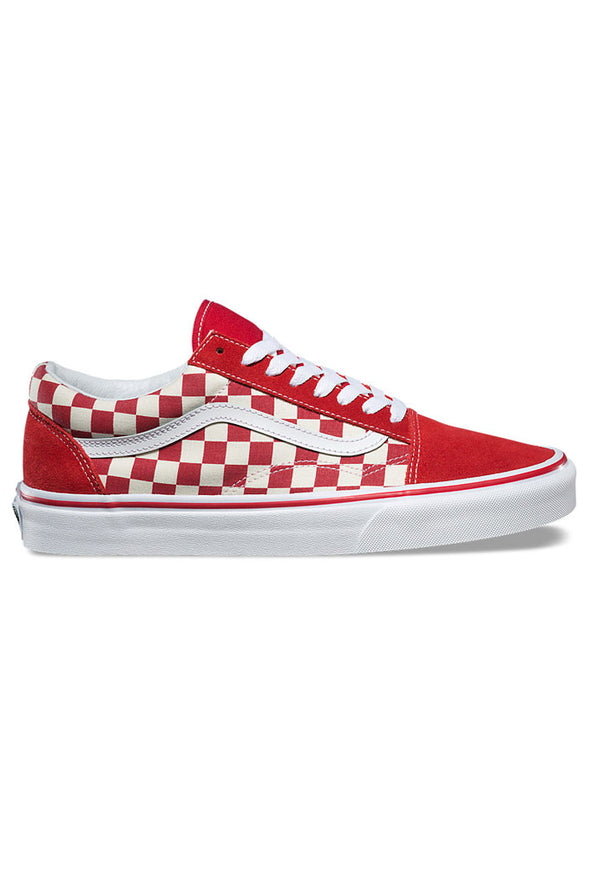 Vans Primary Check Old Skool Shoes - Mainland Skate & Surf