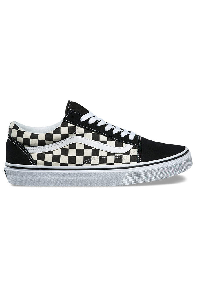 Vans Primary Check Old Skool Shoes Mainland Skate Surf